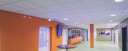 Afwerking : Verlaagde plafonds